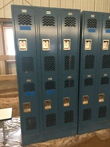 Gym Sports Lockers Cabinet Closets Storage Vintage Girls Smith College