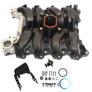 New Intake Manifold W Thermostat Gaskets Kit For Ford Lincoln Mercury 4 6l V8