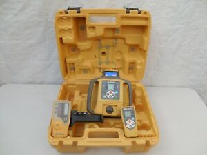 Topcon Rl sv2s Dual Slope Laser Level With Ls 80l Receiver
