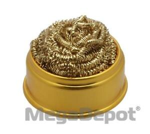 Aven 17530 tc Soft Coiled Brass Tip Cleaner