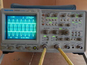 Tektronix 2465b Oscilloscope 400mhz 4 Chan Calibrated