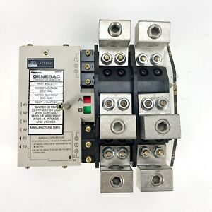 Generac 200 Amp Transfer Switch 62677 84719a