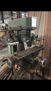 1980 s Enco Milling And Drilling Machine