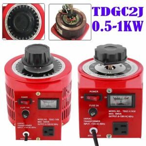 Variable Transformer Powerstat Ac Auto Contact Voltage Regulator 500w 1000w Oy