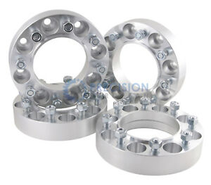 4pc 2 Aluminum Skid Steer Wheel Spacers 8x8 5 8 Studs Cat Gehl Mustang
