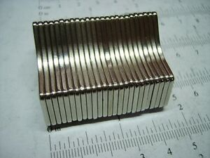 Lot Of 25x Hard Drive Neo Magnets Neodymium Rare Earth Hard Drive Ndfeb