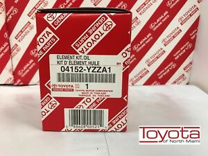 Toyota Oem Engine Oil Filter 04152 Yzza1 For Scion Avalon Camry Highlander Venza