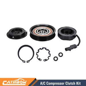Ac A C Compressor Clutch Kit Pulley Coil For Dodge Ram Jeep Dakota Mitsubishi