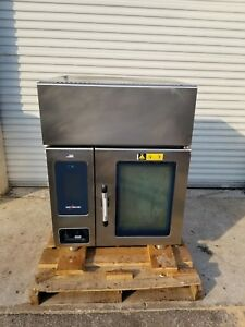 2014 Alto shaam Ctp6 10evh Electric Combi Oven Steamer W Ventless Hood System