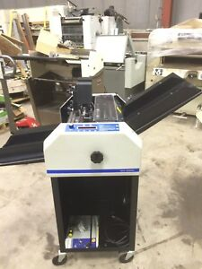 Printing Press Graphic Whizard Model Gw 6000 W two Numbering Machines