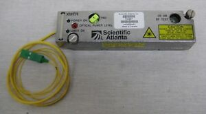 Scientific Atlanta Hi gain Fiber Optic Transmitter 730967 For 6940 Node Sc apc