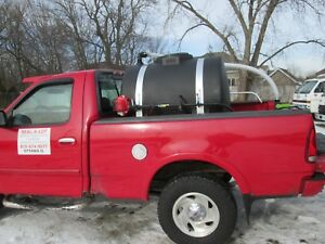 250 Gallon Poly Tank Seal Coat Sealcoating Asphalt Driveway Sealer Machine