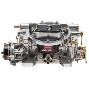 Edelbrock Carburetor 1906 Avs2 650 Cfm 4 Barrel Electric Choke Vacuum Satin