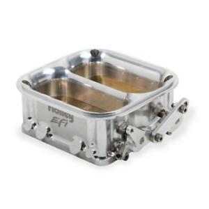 Holley Fuel Injection Throttle Body 112 593 2550 Clear Anodized 4500 Dominator
