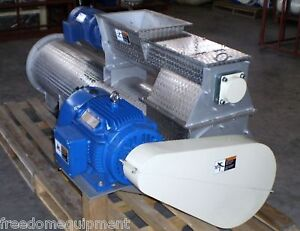 New Cme Stainless Steel Pellet Mill extruder Feeder 7 5hp Steam Conditioner