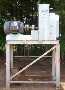 Used Jacobson Hammermill 60 Hp Carter Day P240d Feed Corn Hammer Mill