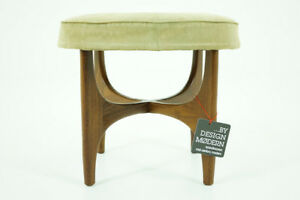 309 150 1 Teak Stool By Ib Kofod Larsen For G Plan Danish Mid Century Modern