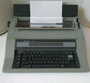 Vtg Swintec 600 Electronic Typewriter W Cover Tested Working W Ribbon