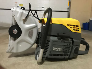 Chop Saw Cut off Saw Concrete Asphalt Saw Wacker Neuson Bts 630