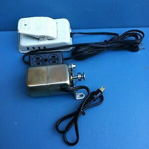 Tennglad Ind Sewing Machine Variable Speed 115v Ac dc Motor Made In Japan W22