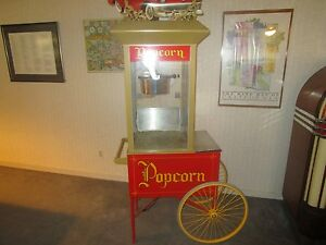 Gold Medal Popcorn Machine With Cart Model 2131