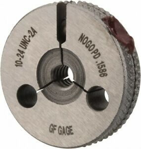 Gf Gage No 10 24 Thread Double Ended Ring Thread Go No Go Gage Class 2a