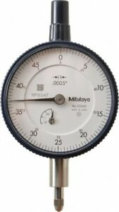 Mitutoyo 0 125 Inch Range 0 50 Dial Reading 0 0005 Inch Graduation Dial Dro