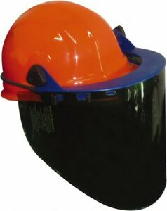 Pro safe Nylon Face Shield And Orange Headgear 20 Inch Wide X 10 Inch High X
