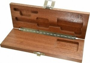 Brown Sharpe Wood Caliper Case 1 Piece Use With T bar Depth Base Attachme