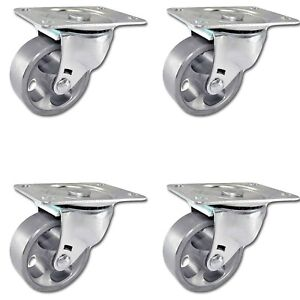 Casterhq 2 5 Vintage Rustic Swivel Steel Wheel Caster Set Of 4 Sintered Iron