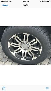 Tires Rims For Toyota 2013 Tundra Rims W tires