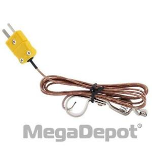 General Tools Oc119 High temperature Type k Thermocouple Probe With Oven Clip