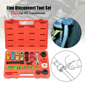 22x Oil Fuel Transmission Line Disconnect Tool Set For A C Air Conditioning