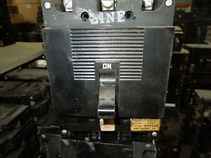 Square D Type Ml 1 999340 40a 3p 600vac Circuit Breaker Used