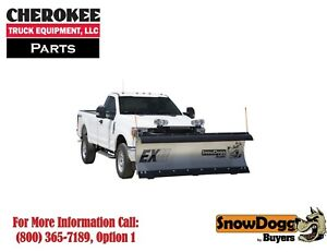 Snowdogg Buyers Products Ex75ii Snow Plow 90 Blade Width
