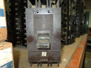 Square D Type Ml 2 994350 50a 3p 600vac Circuit Breaker Used