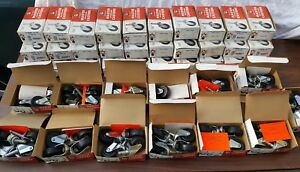 Wholesale Lot Vintage Nos Master Casters Wheels Mcm Chair Office Mid Century