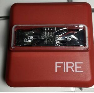 Cooper Wheelock Red Wall mount Fire Alarm Strobe Zrs mcw fr
