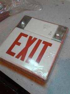 Atlite Contours Pc3 ru Led exit Sign Combo