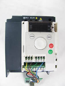 Schneider Electric Altivar Variable Speed Drive Atv12hu22m2 3 0 Hp Nice