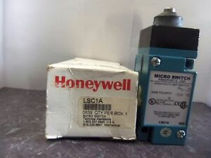 New Honeywell Lsc1a Micro Heavy Duty Limit Switch 10 Amp 600 Vac Nib
