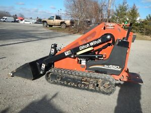 2012 Ditch Witch Sk650 Mini Track Skid Steer All Terrain Loader