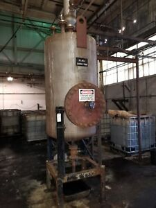 300 Gallon 304l Stainless Steel Reactor Vessel