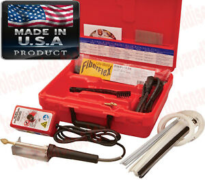 Plastic Welder Welding Tool Airless Heating Gun Iron Tpo Teo Pp Repair Kit Usa