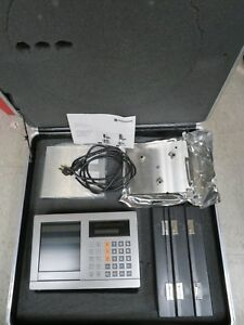Heidenhain Measuring System In Case Includes Dro 3 Probes Accessories Mw18