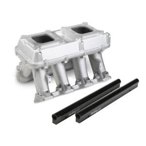 Holley Intake Manifold 300 115 Hi Tech Tunnel Ram Aluminum For Chevy Ls3 L92