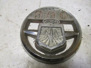 Ford 900 Tractor Hood Medallion