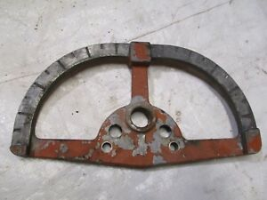 Allis Chalmers Wd Wd45 Tractor Throttle Hydraulic Plate
