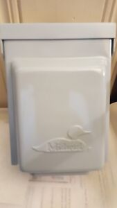 Midwest Electric U054 New Outdoor Rain Proof Power Outlet 50 Amp 120 240v Grey