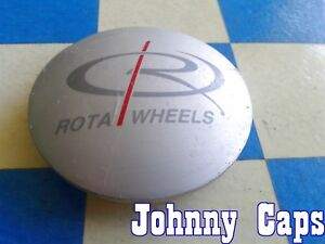 Rota Wheels 69 Silver Center Caps N A Custom Wheel Center Cap 1